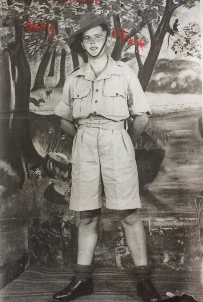Bernard in Belgium, 1944 (SWNS)