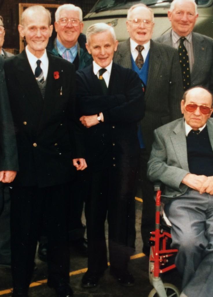 Bernard with the Renfrewshire Burma Star Association (SWNS)