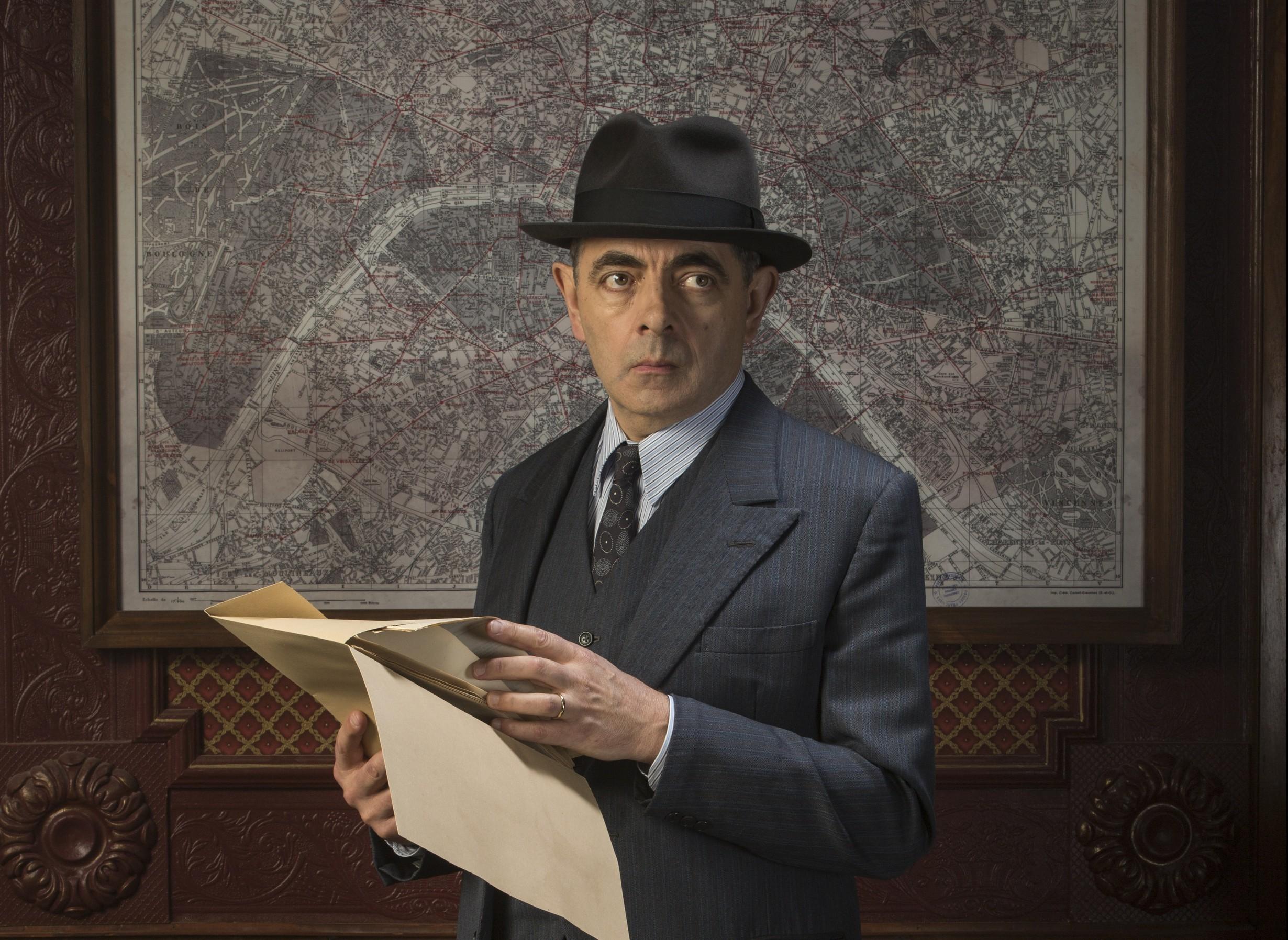 Rowan Atkinson as Maigret (ITV/Ealing Studios/Colin Hutton)