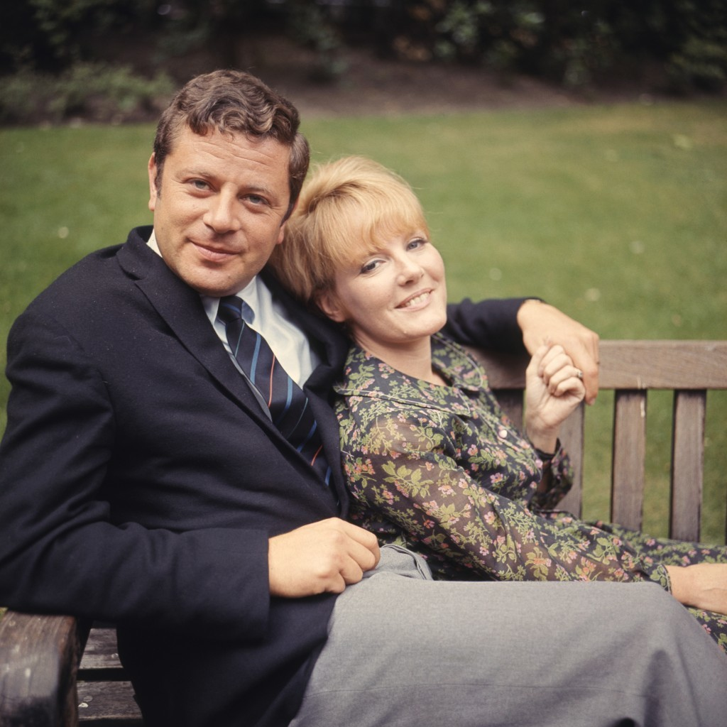 With husband Claude Woolf in 1966 (Getty Images)