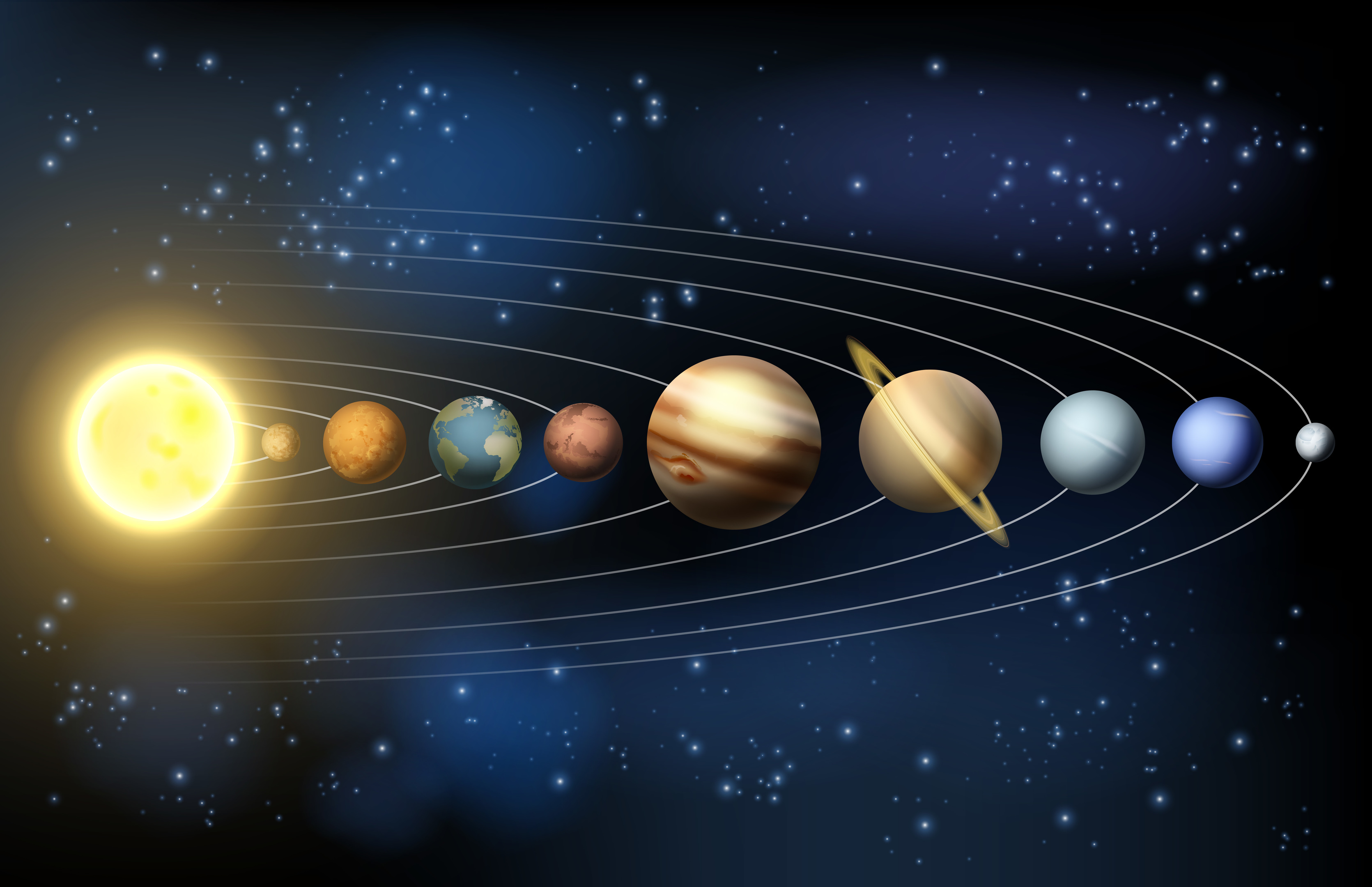 Planets of the Solar system (Christos Georghiou)