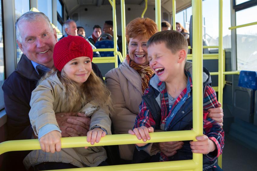 Grandparents' wills favour grandchildren (DGLimages)