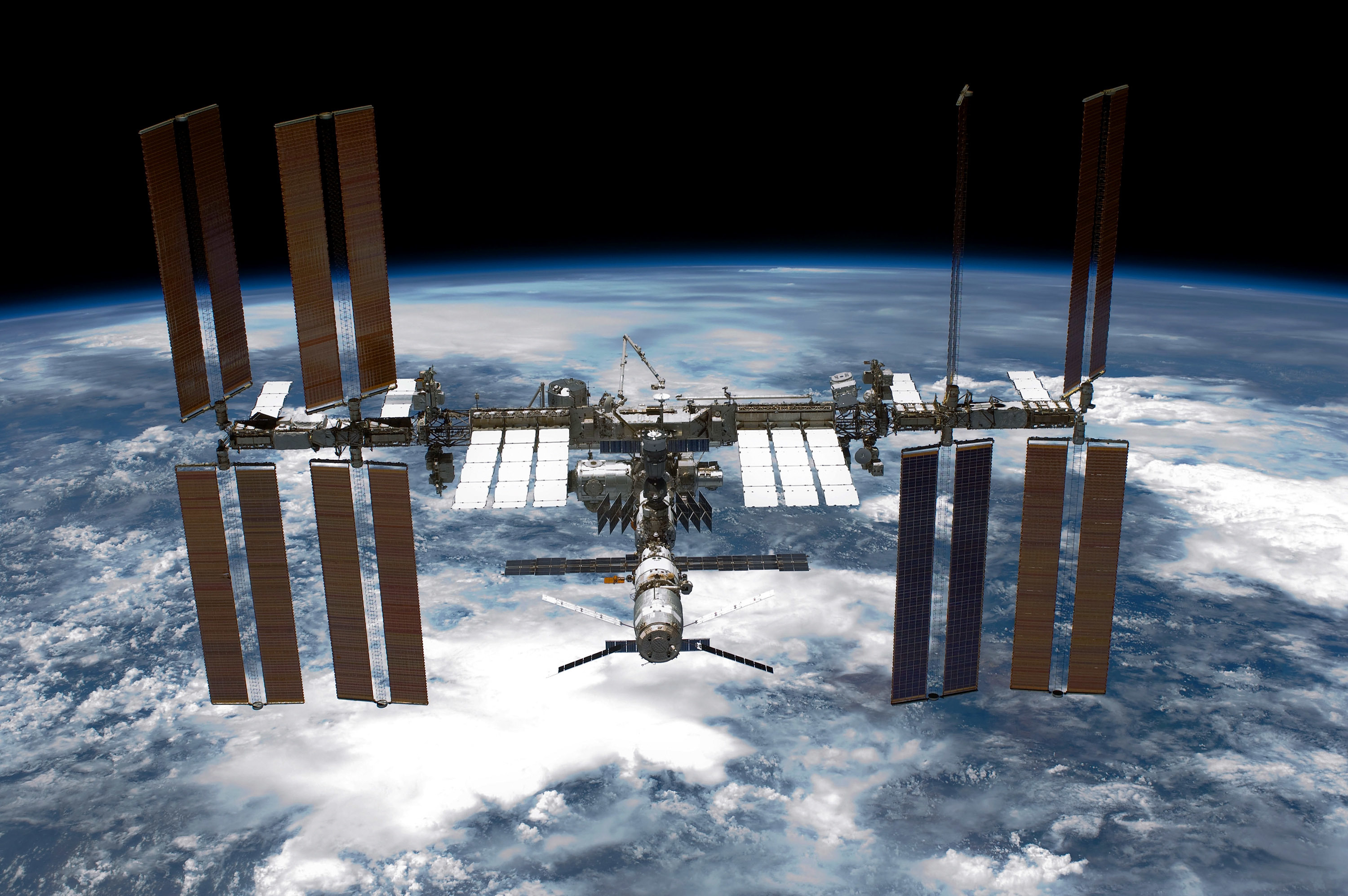 The ISS (NASA via Getty Images)