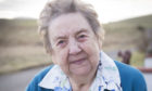 Isobel Garriock form Stromness, Orkney, who was lonely but now has a befriender who visits her and takes her out (Suzanne Lee)