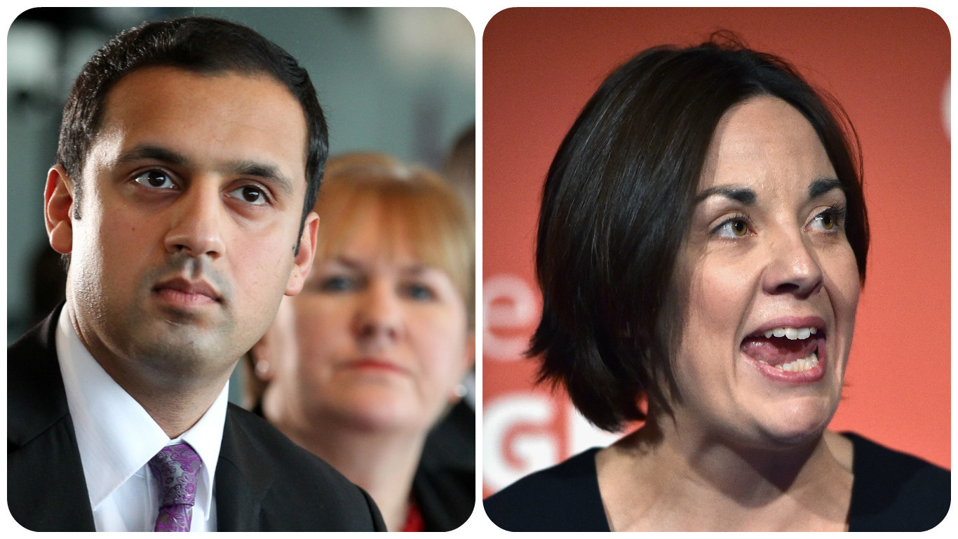 Anas Sarwar and Kezia Dugdale