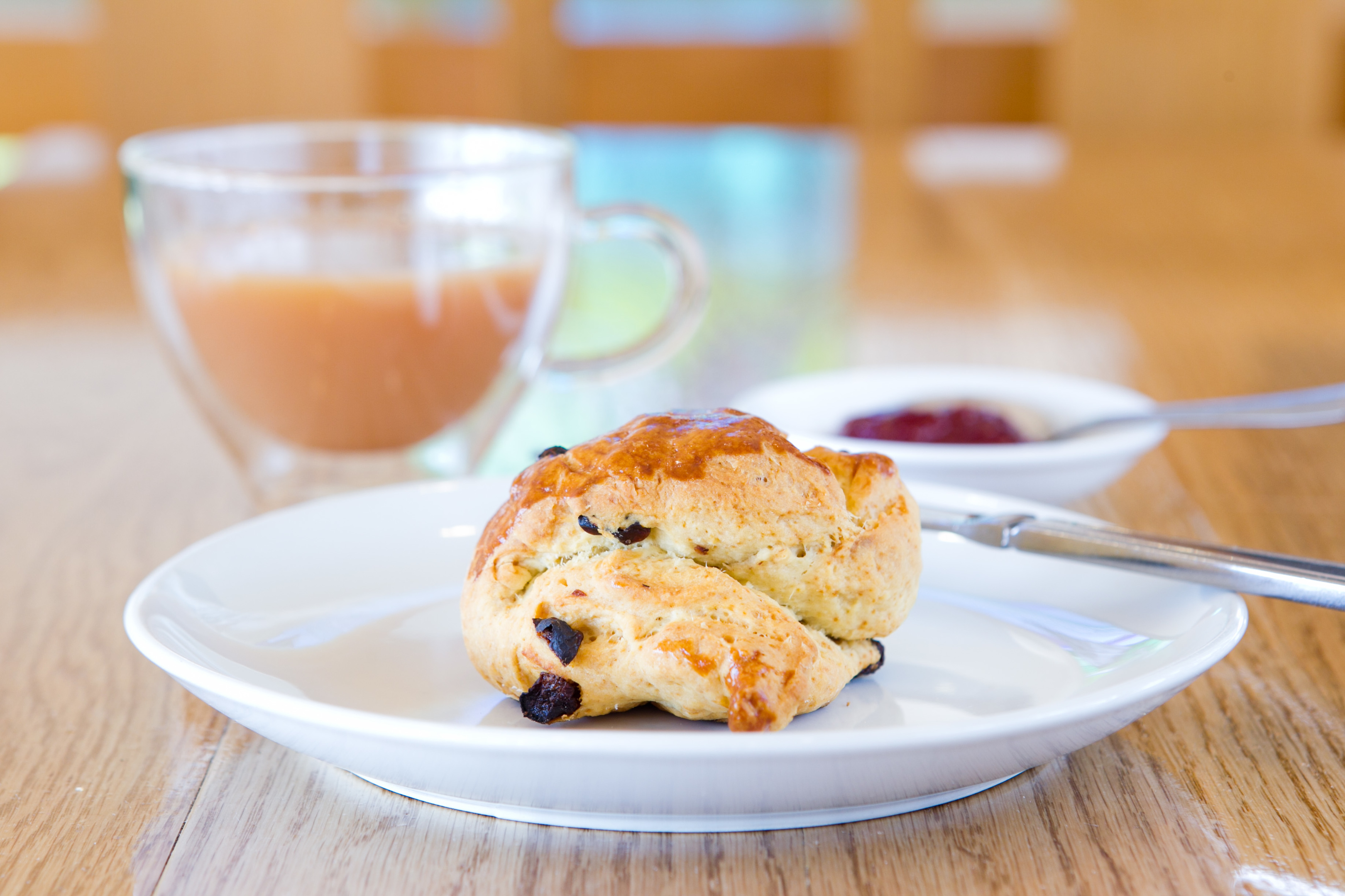 Thyme Cafe's fruit scone (Andrew Cawley / DC Thomson)