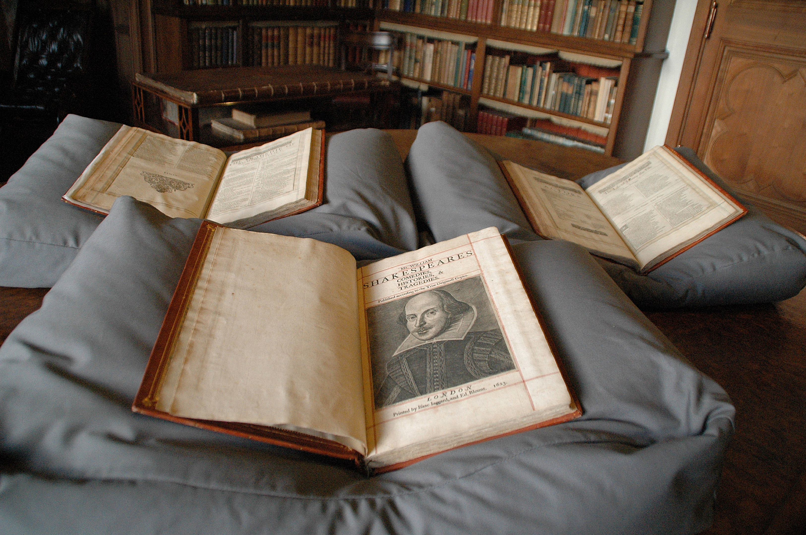 Shakespeare's First Folio (University of Oxford/PA Wire)