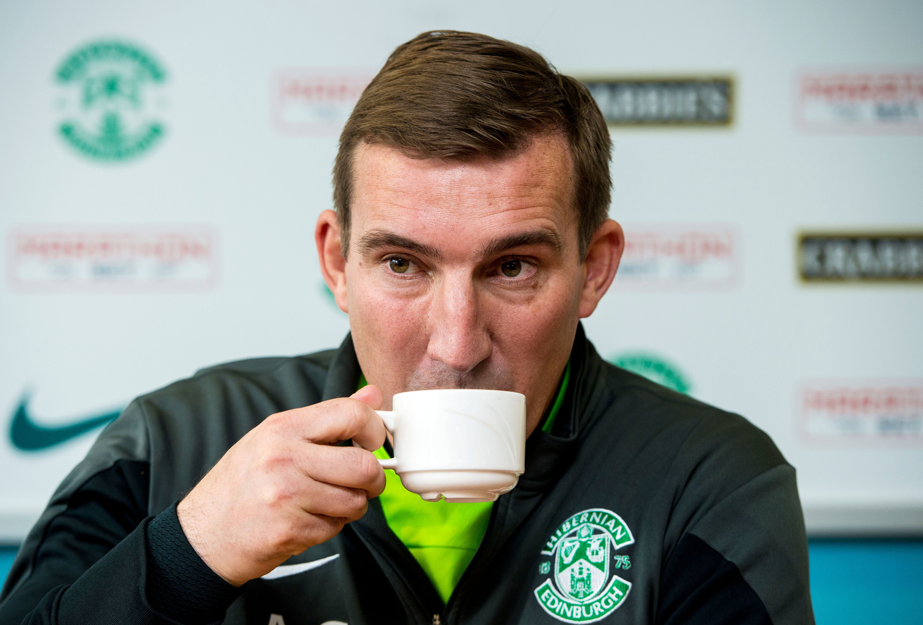 Hibs manager Alan Stubbs (SNS Group)
