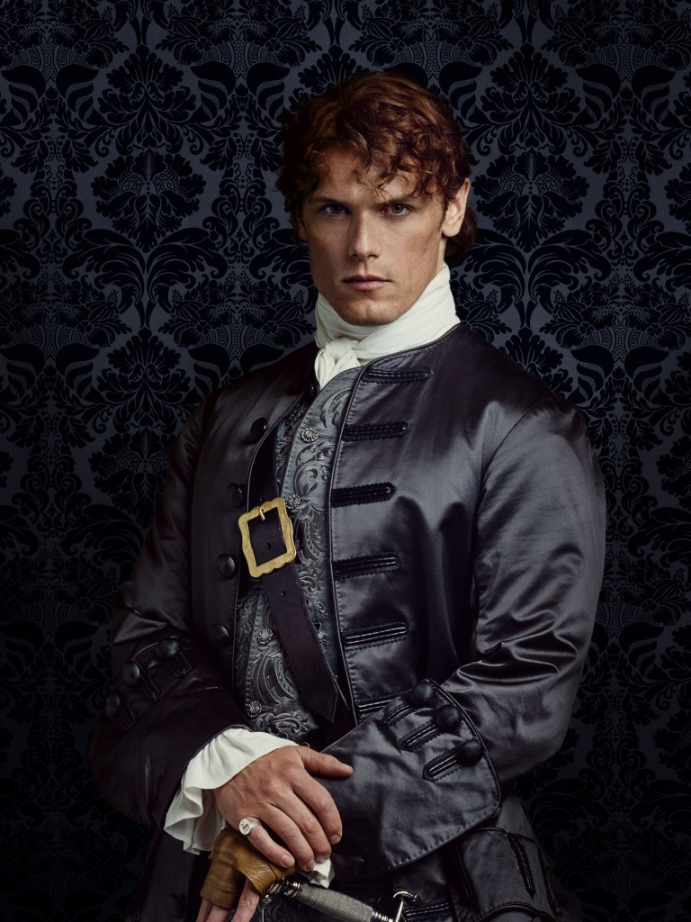 Sam Heughan as Jamie Frasier in Season 2 of Outlander (Jason Bell/Starz/Sony Pictures Television/PA Wire)