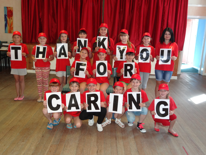 Children from Chernobyl on a break in the UK (Michael Lafferty)