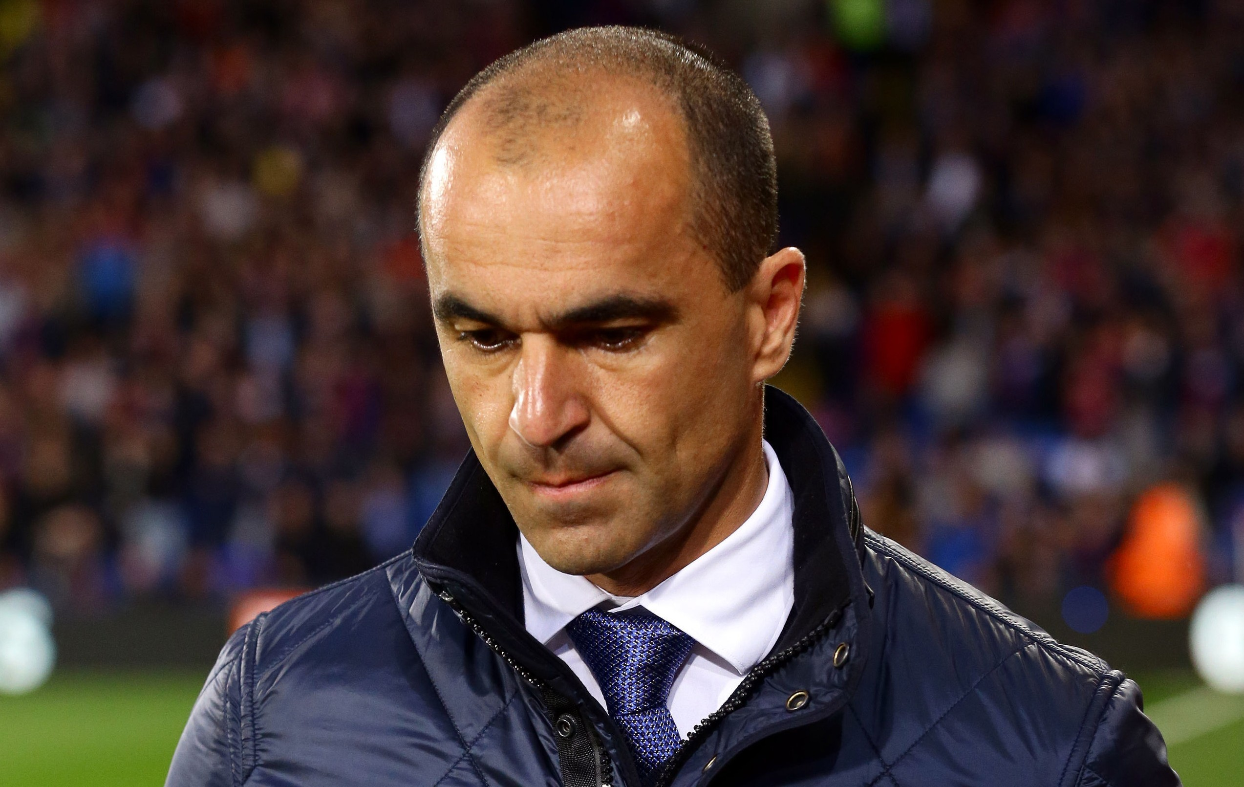 It was a humiliating defeat for Roberto Martinez against Liverpool (Gareth Fuller/PA Wire)