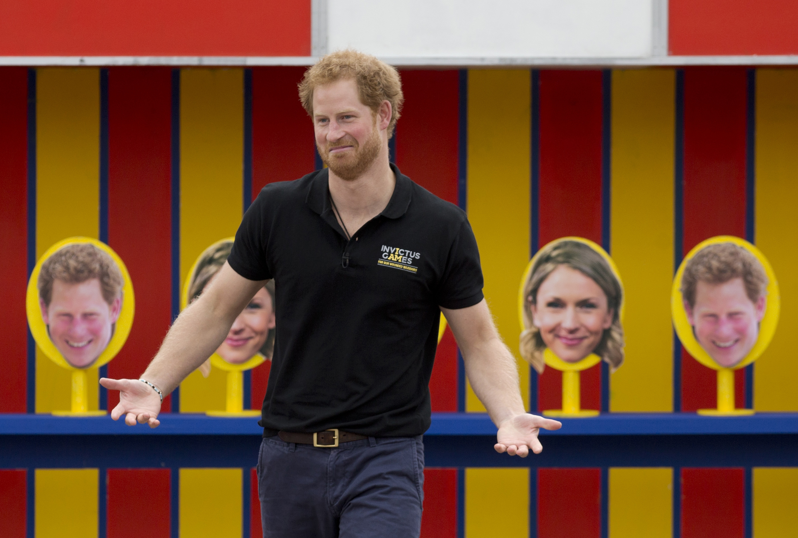Prince Harry takes part in filming 'Game Changers' (Matt Dunham - WPA Pool/Getty Images)
