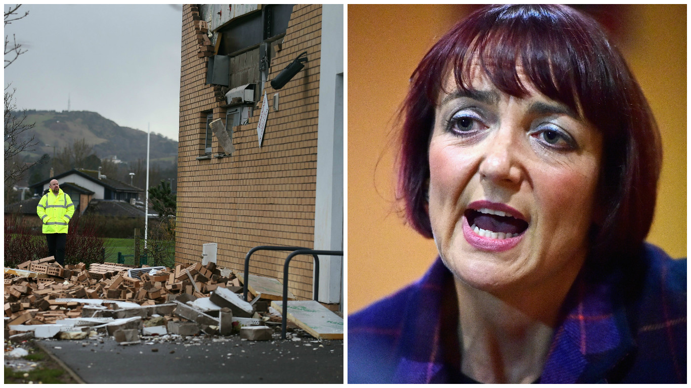 Angela Constance says all buildings will be checked after the Edinburgh schools fiasco (Getty Images)