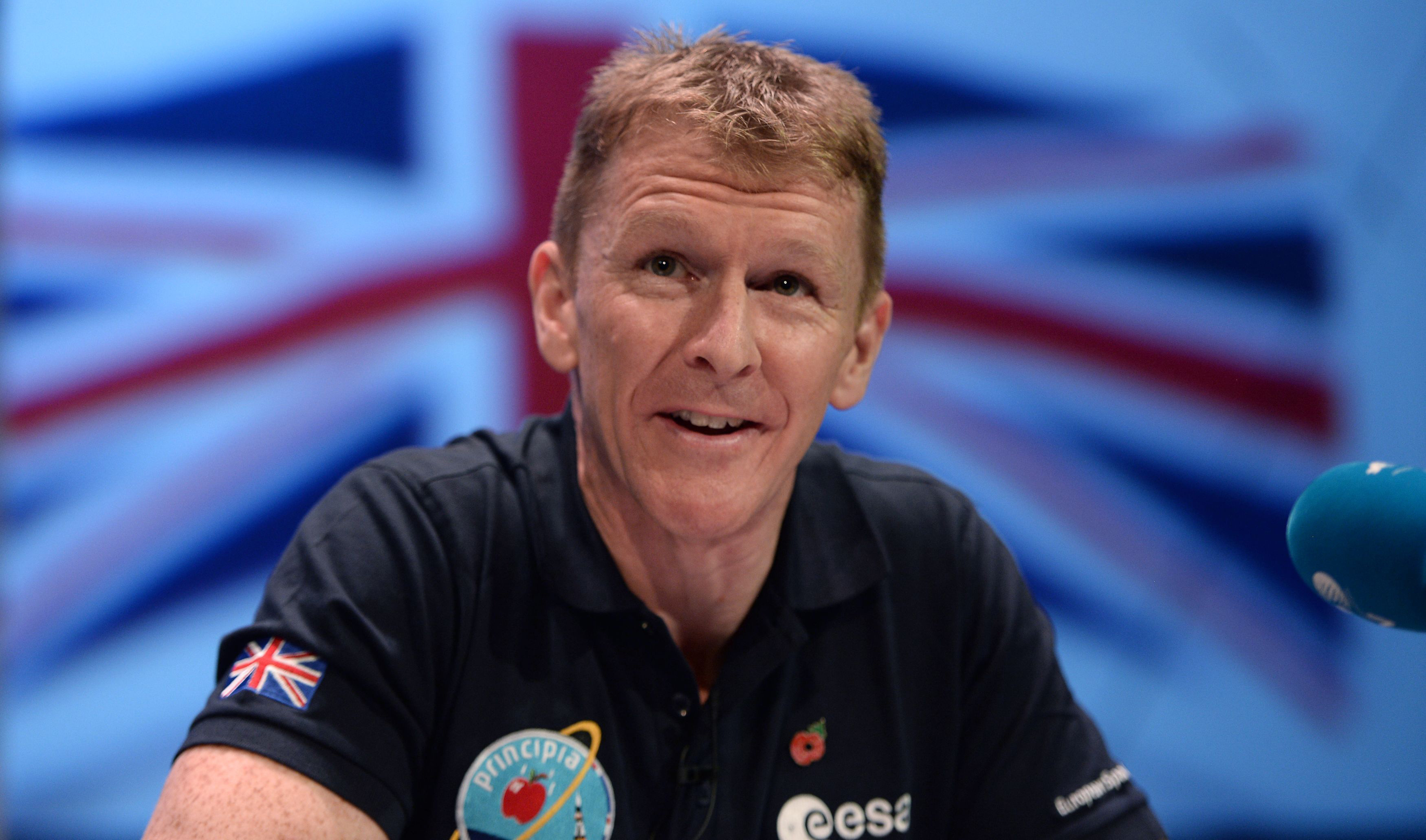 British astronaut Tim Peake to run marathon (Anthony Devlin/PA Wire)