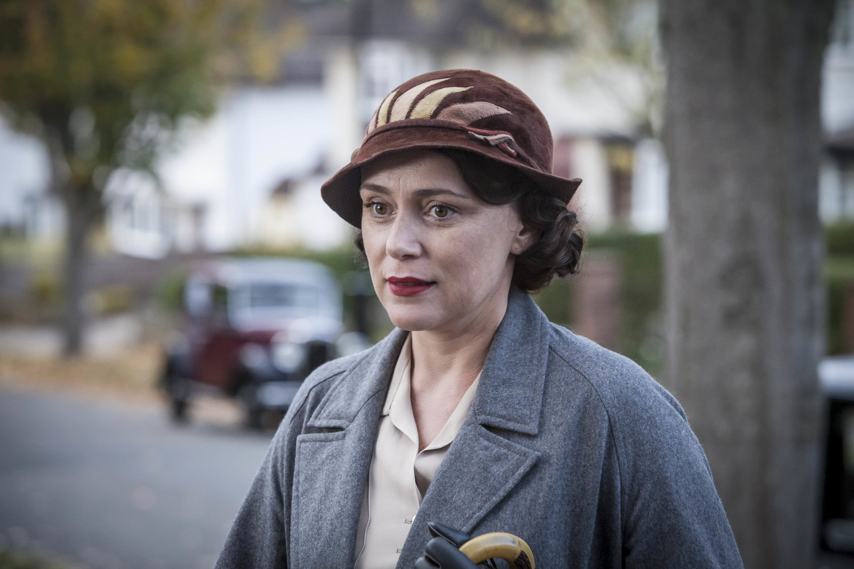 Keeley Hawes as Louisa Durrell (ITV)