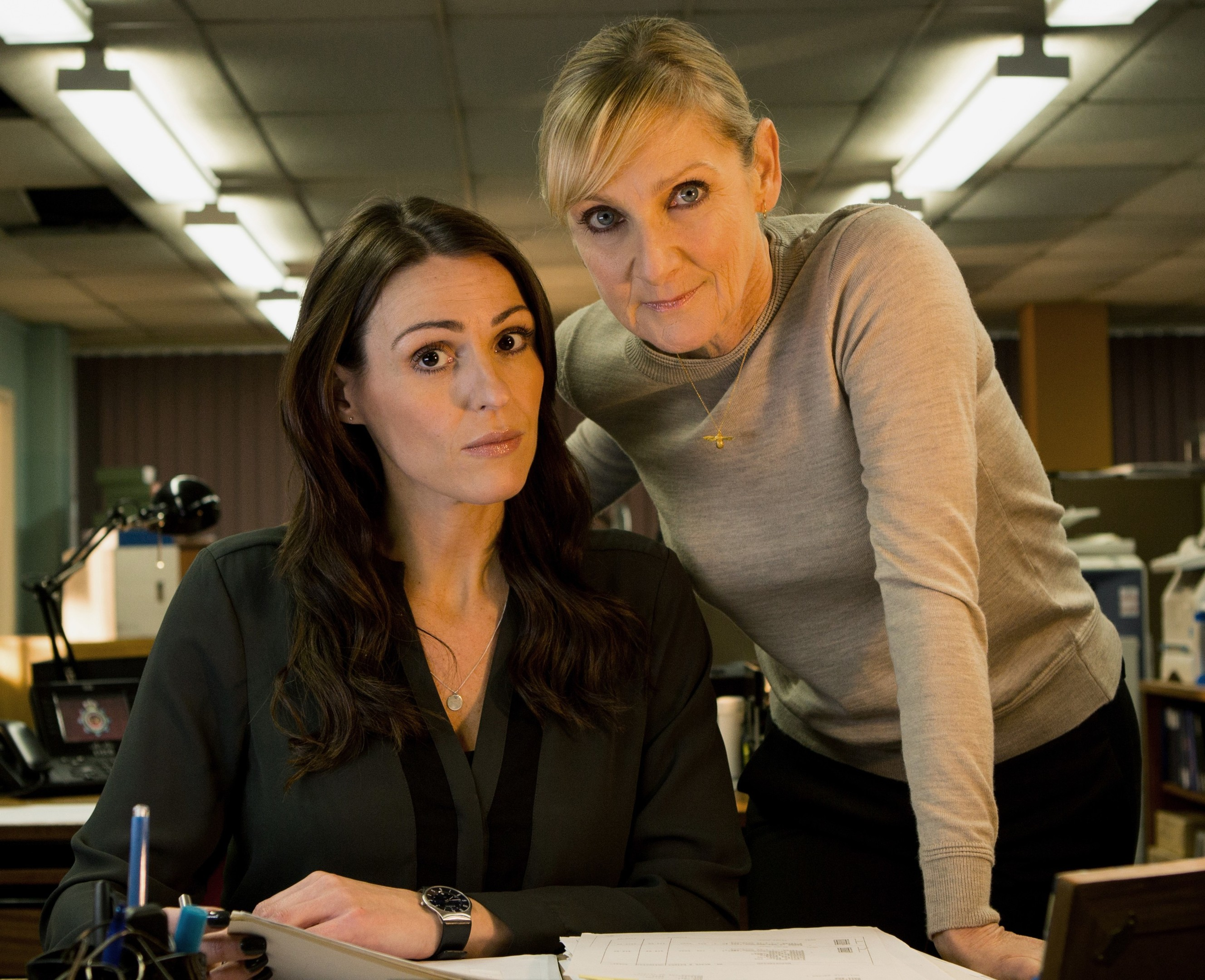 Suranne Jones and Lesley Sharp (Red Production/ITV)