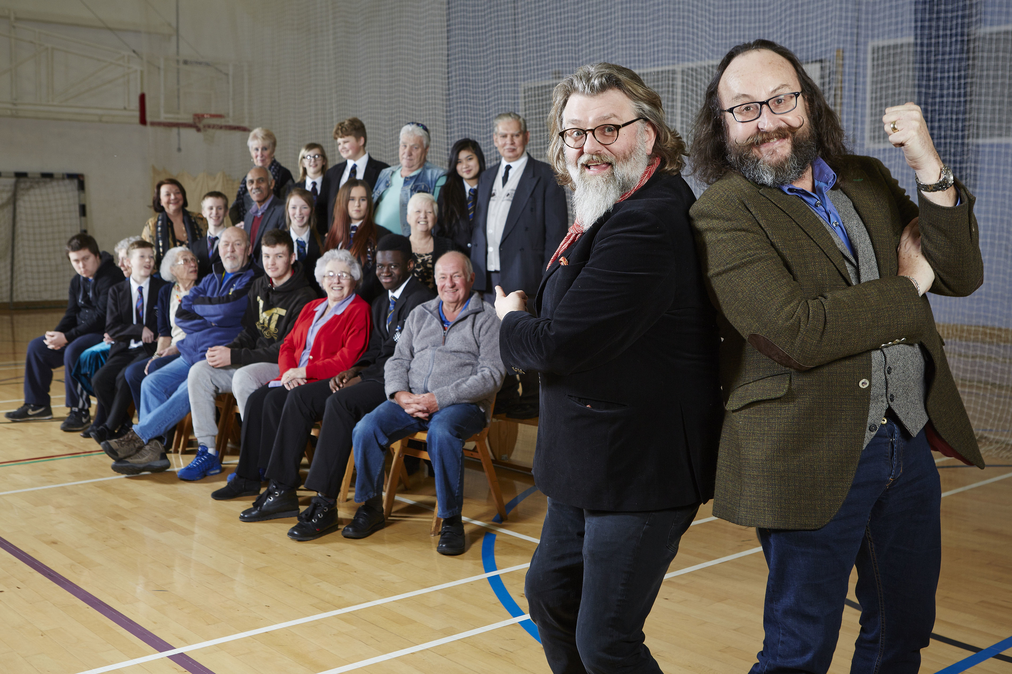 Old School with The Hairy Bikers (BBC/Maverick Television/Matt Frost)