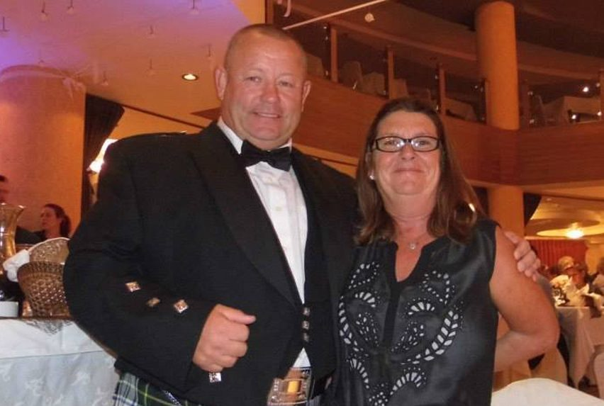 Child abuser Douglas Barr and his wife Julie Barr