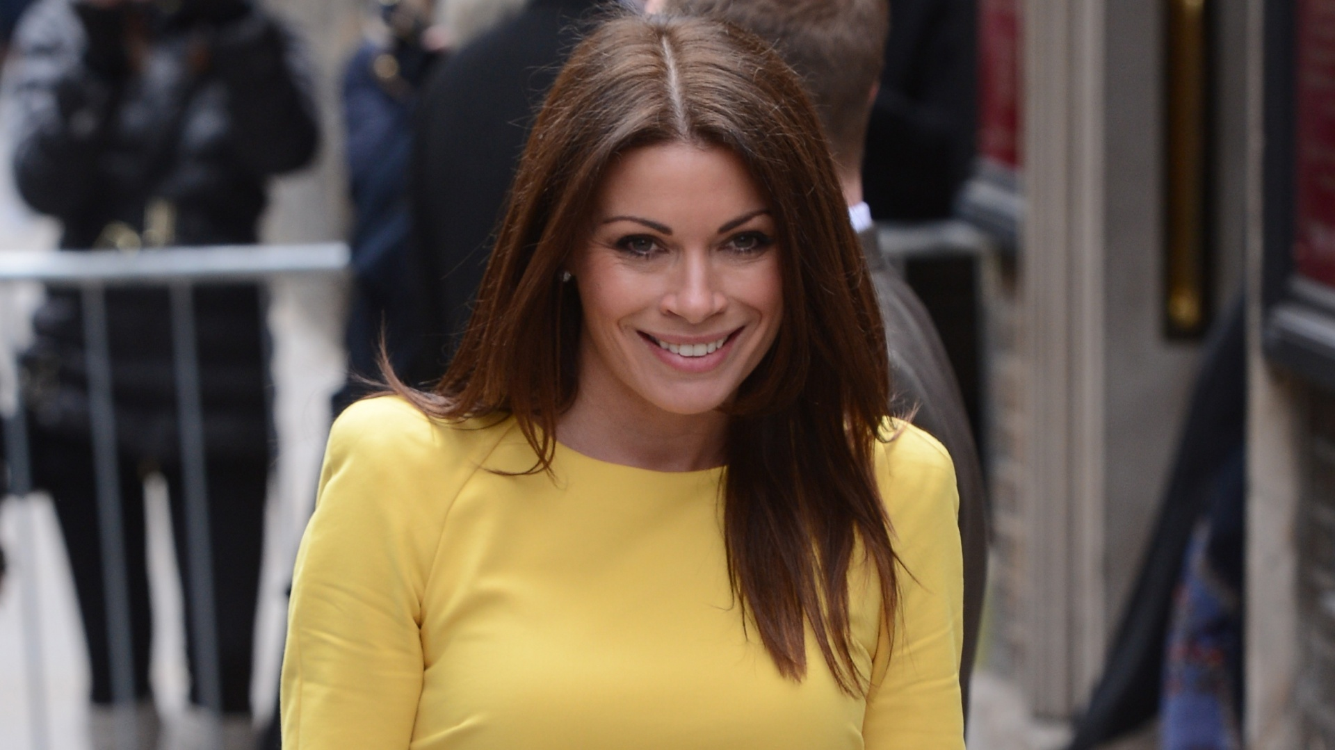 The actress has played Carla Connor in Coronation Street for a decade (PA)