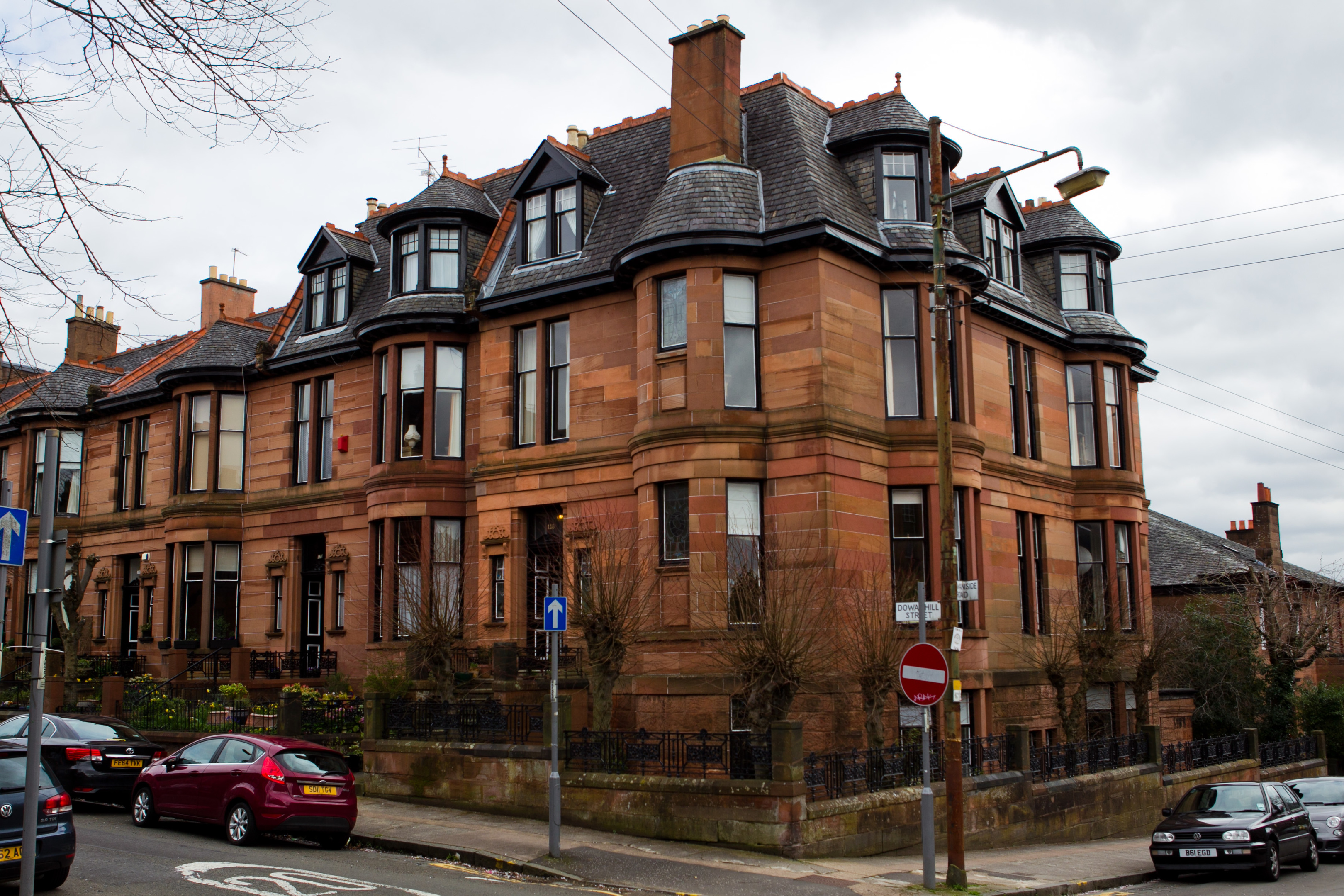 Niki Jones' home in Glasgow's west end (Andrew Cawley/DC Thomson)