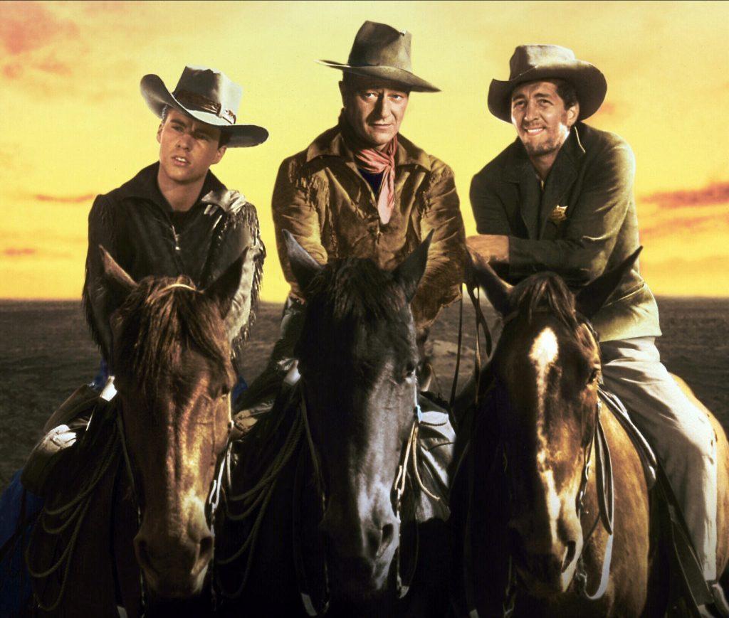 Ricky Nelson, Wayne and Dean Martin in Rio Bravo (Allstar/WARNER BROS)