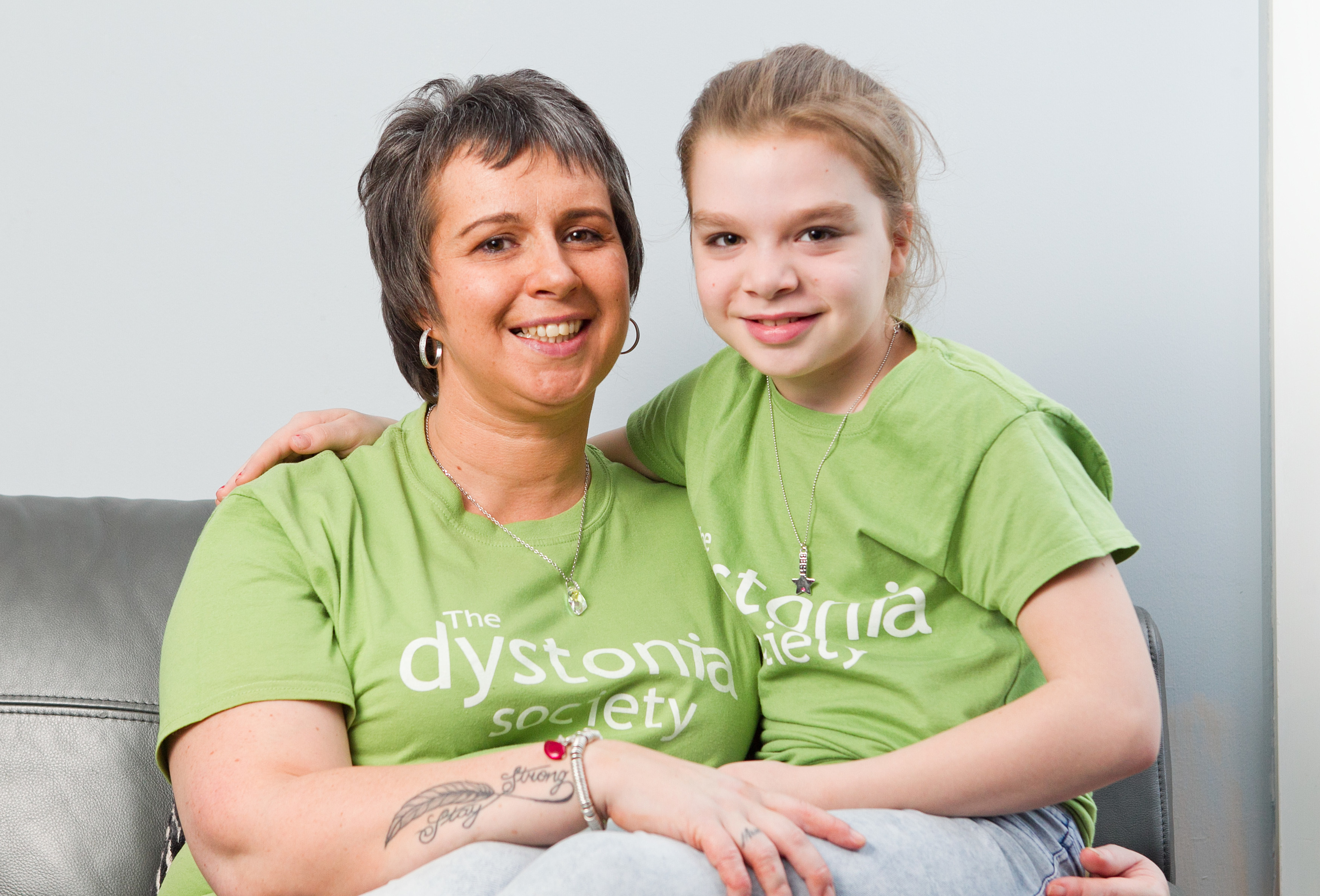 Nichoa Mooney, and her daughter Laura (Andrew Cawley / DC Thomson)