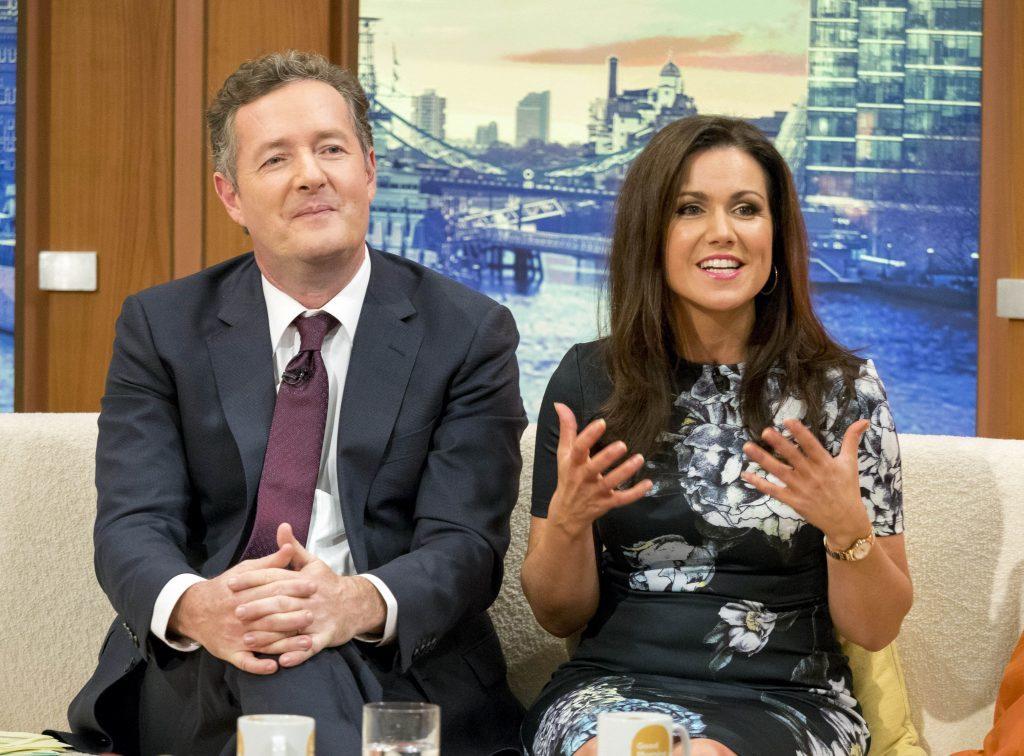 Piers Morgan and Susanna Reid on 'Good Morning Britain' (Peter Gray / ITV)