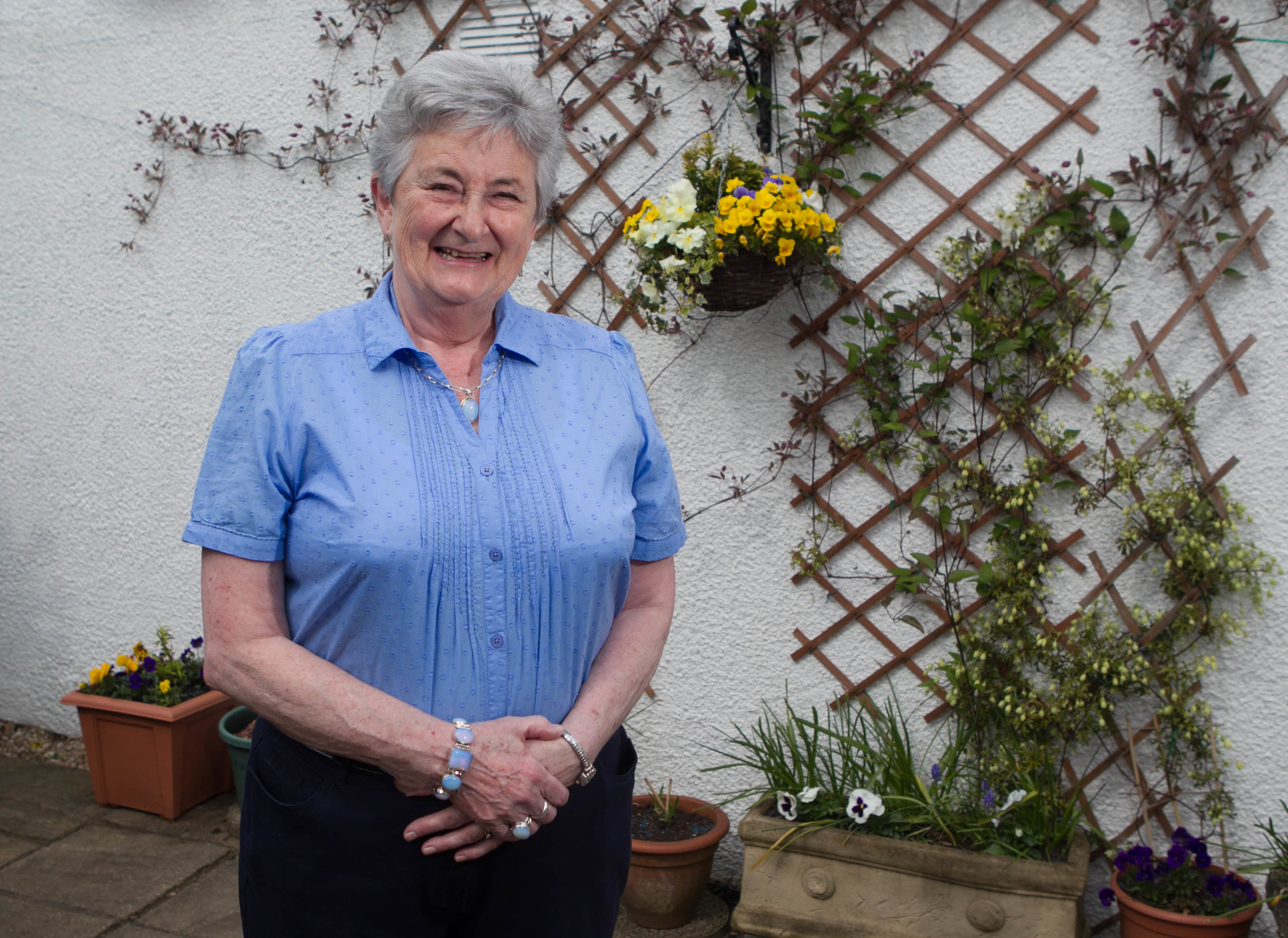 Grace endured many years of misery before finally being diagnosed with coeliac disease (Chris Austin / DC Thomson)