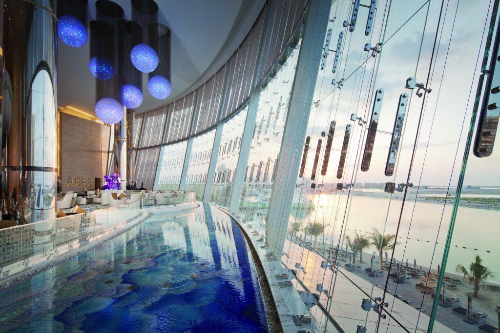Jumeirah at Etihad Towers - Lobby View