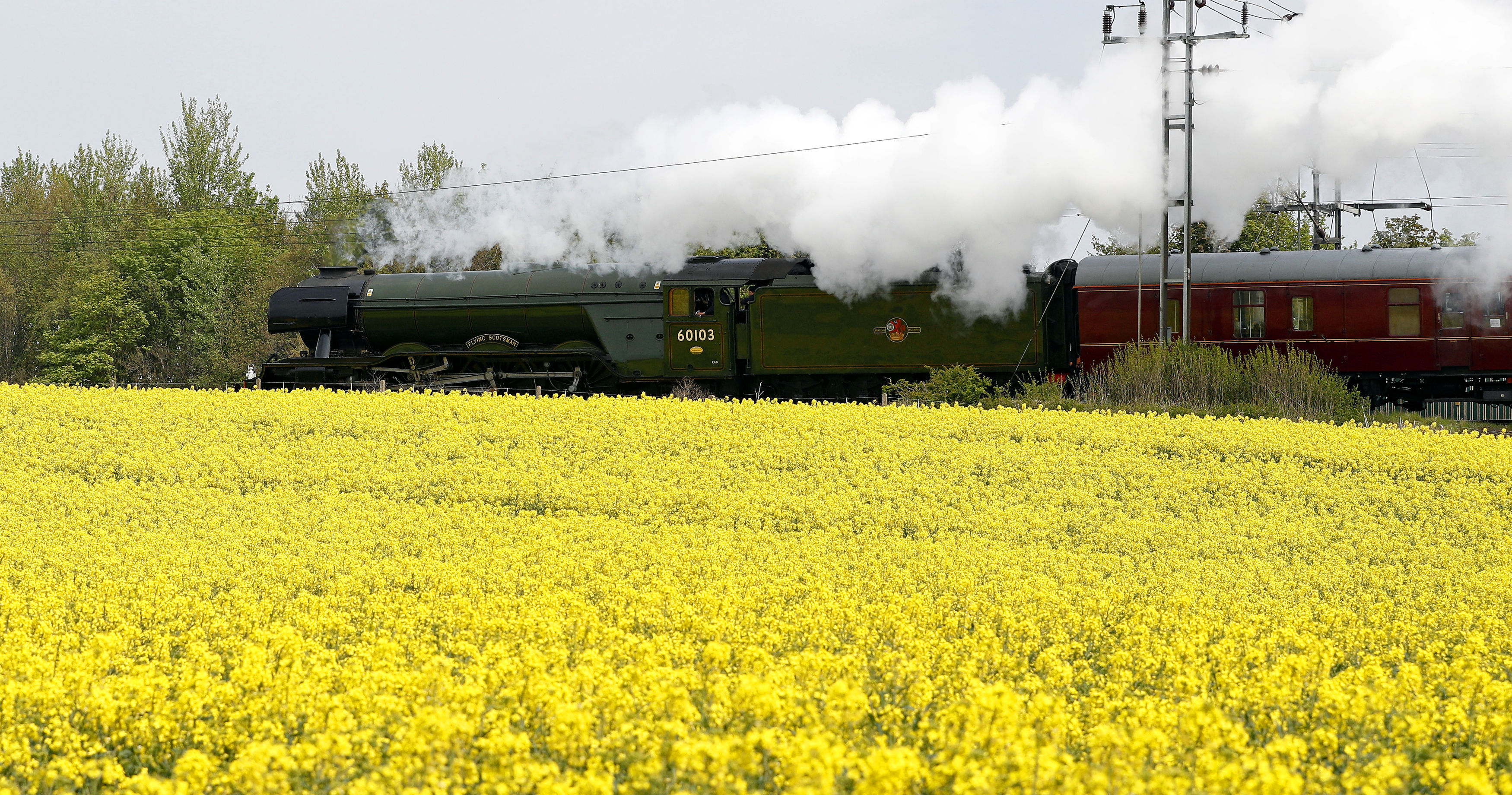 The Flying Scotsman (Owen Humphreys/PA Wire)