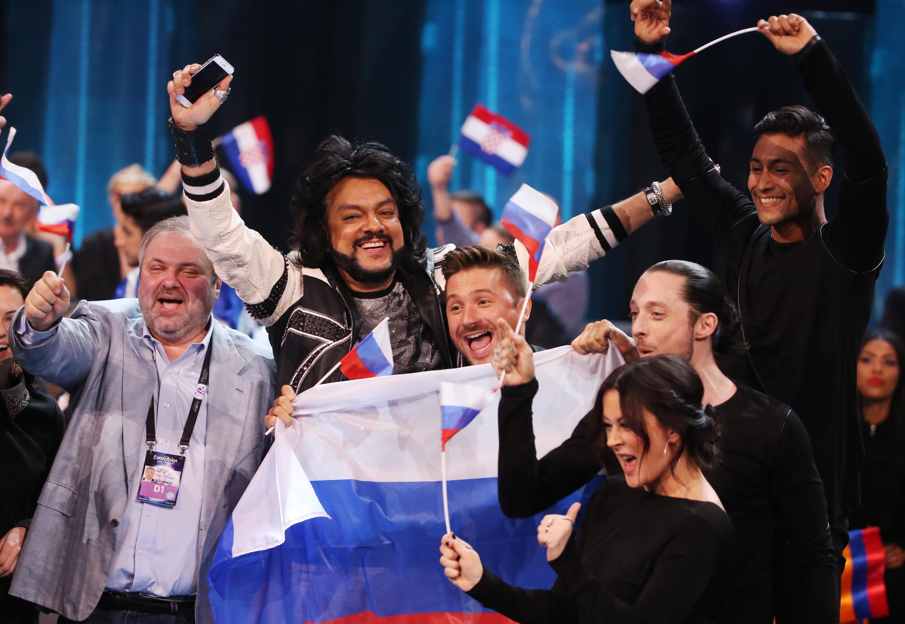 Russia's Eurovision hopefuls (Vyacheslav ProkofyevTASS via Getty Images)