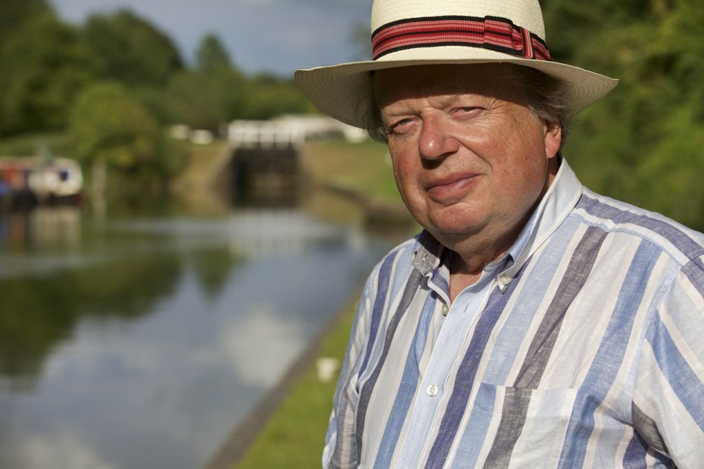 John Sergeant barging round Britain (ITV)
