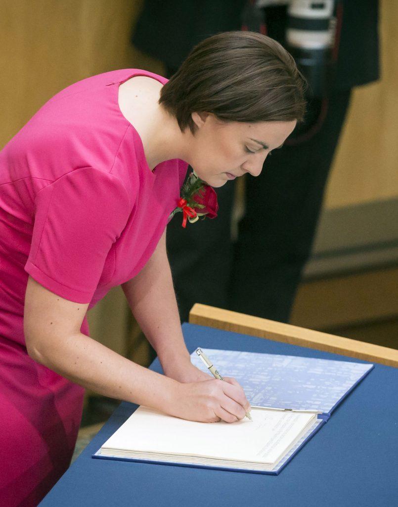 Scottish Labour leader Kezia Dugdale (Danny Lawson/PA Wire)