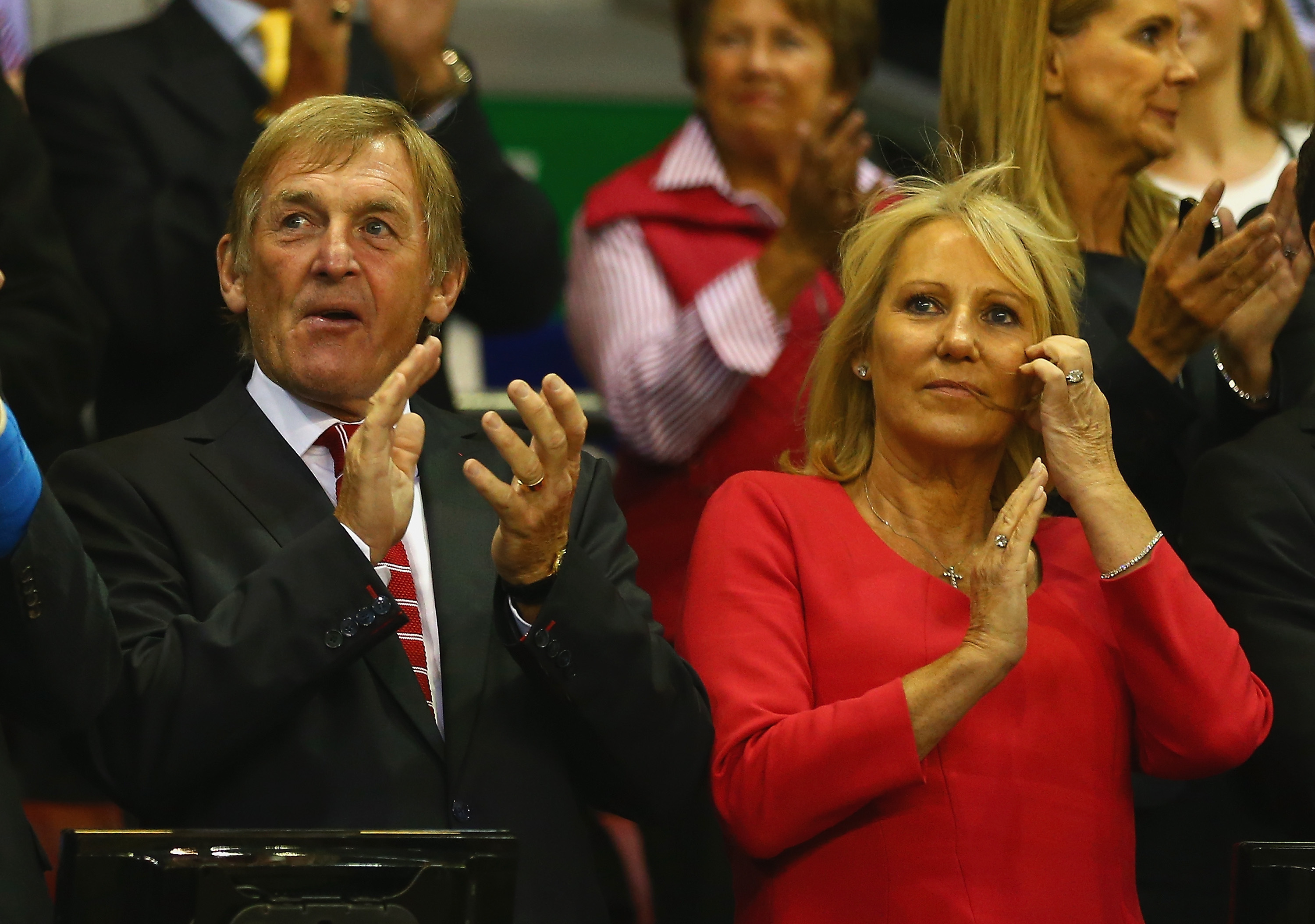 Kenny Dalglish and wife Marina (Clive Brunskill/Getty Images)