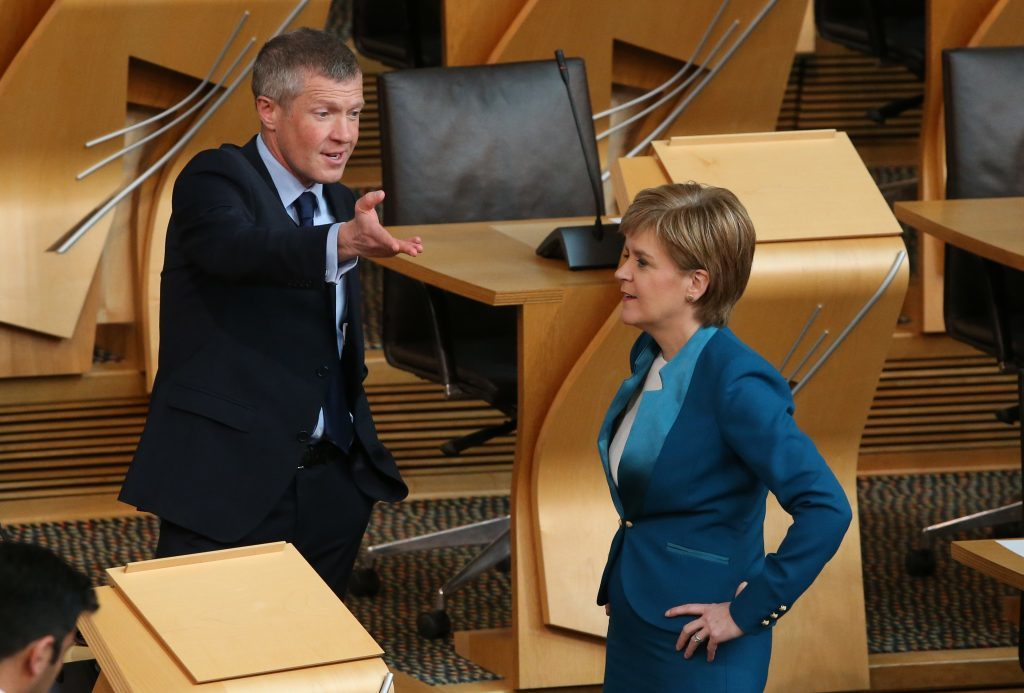 Willie Rennie stood as a candidate for First Minister against Nicola Sturgeon (Andrew Milligan/PA Wire)