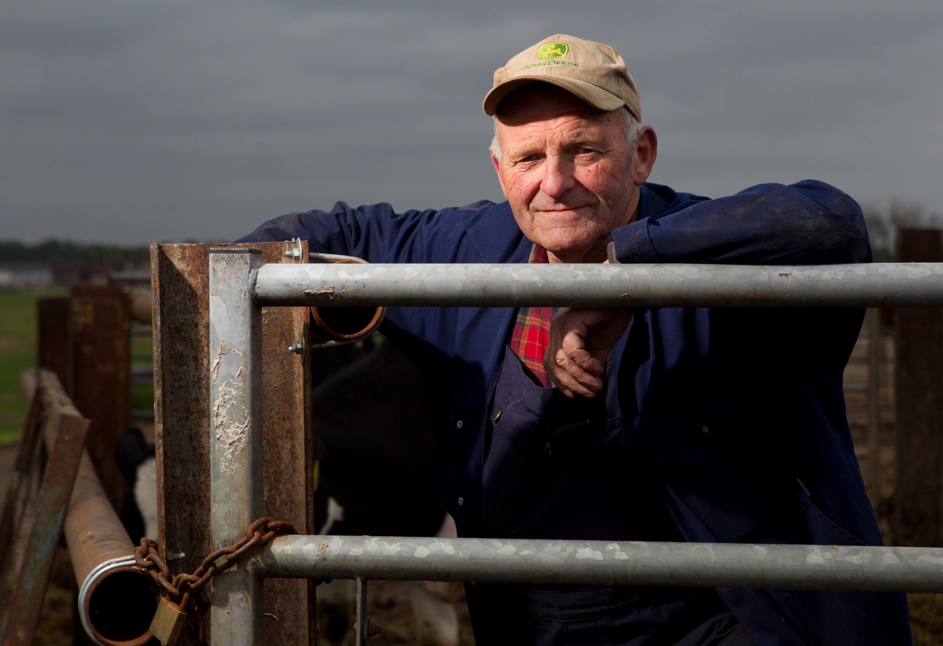 Willie Wilson, 74 year old farmer (Andrew Cawley/ Sunday Post)