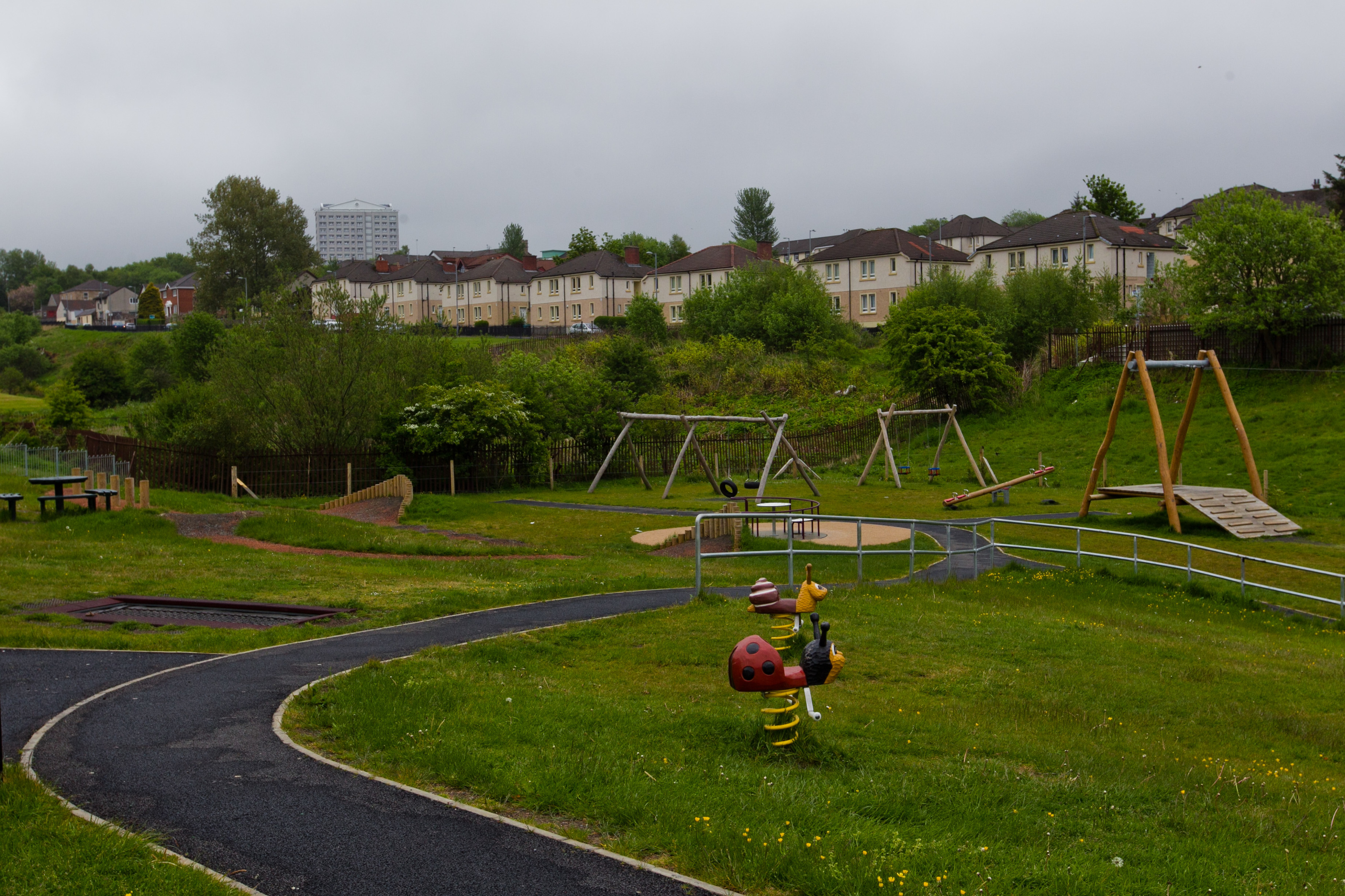 Mavisbank Park, in Airdrie (Andrew Cawley/DC Thomson)