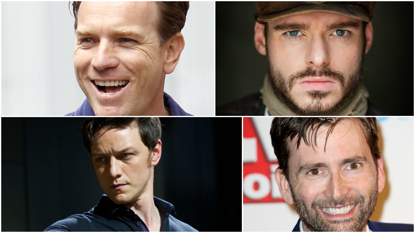 Could one of these men be the next James Bond?