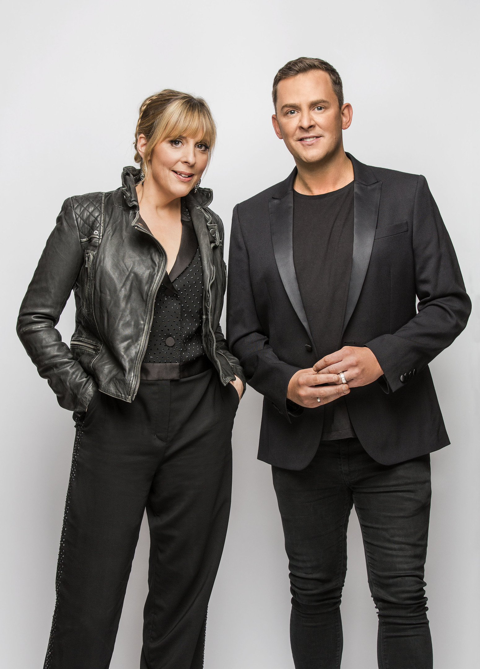 Mel Giedroyc and Scott Mills will host Eurovision 2016 (BBC/ Guy Levy)