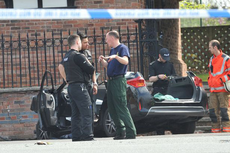 Fatal crash in Altrincham
