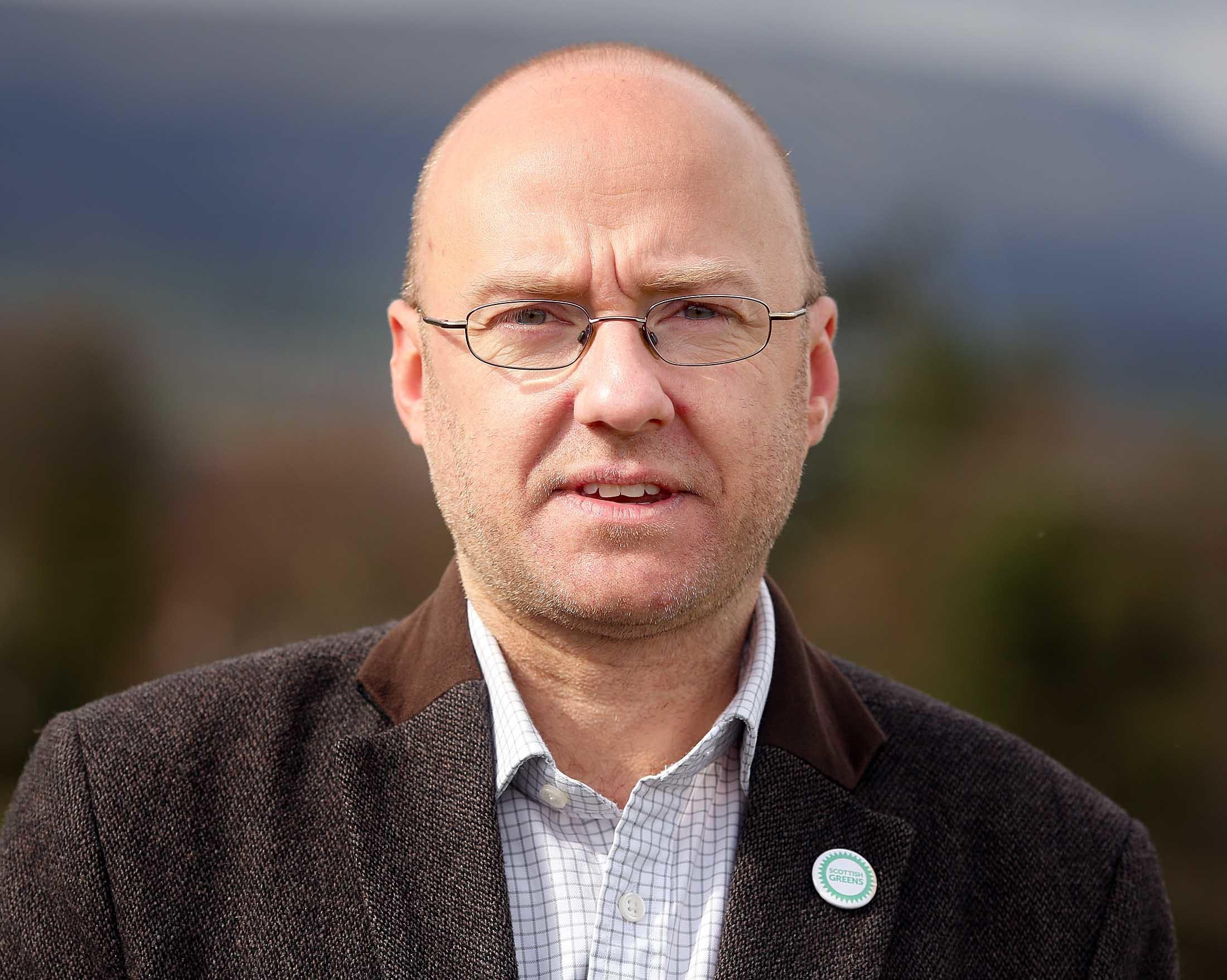 Patrick Harvie, Scottish Green Party (Allan Milligan)