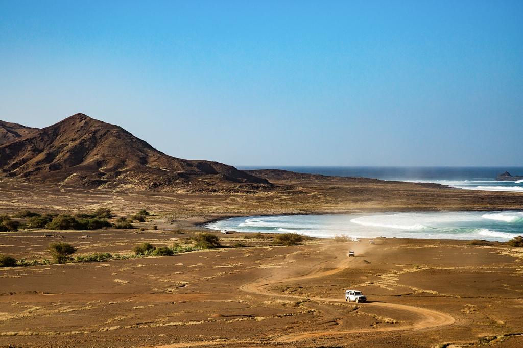 Rugged landscape of Cape Verde