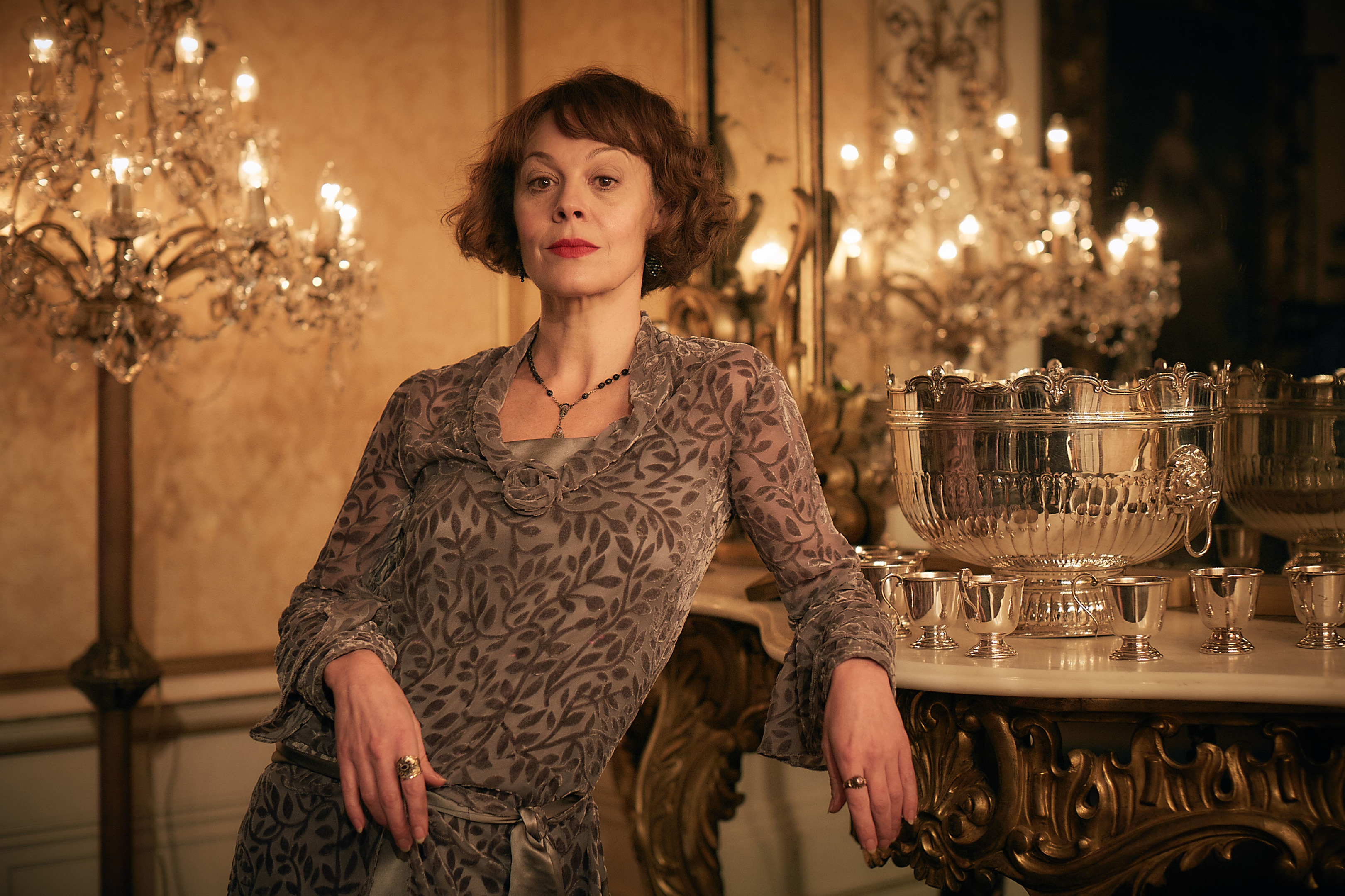 Helen McCrory as Aunt Polly Gray in Peaky Blinders (Caryn Mandabach Productions Ltd / Tiger Aspect Productions Ltd/ Robert Viglasky)
