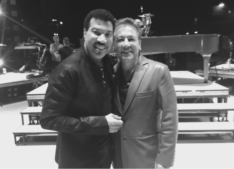 Lionel Richie with Ross King