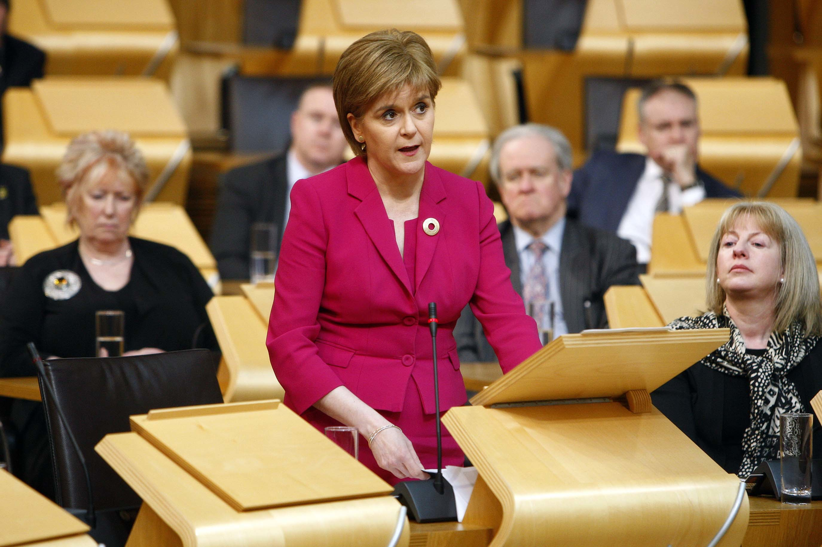 Nicola Sturgeon (Andrew Cowan/Scottish Parliament)
