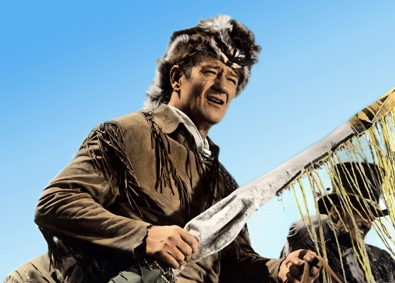 John Wayne as Davy Crockett in The Alamo (Allstar / United Artists)