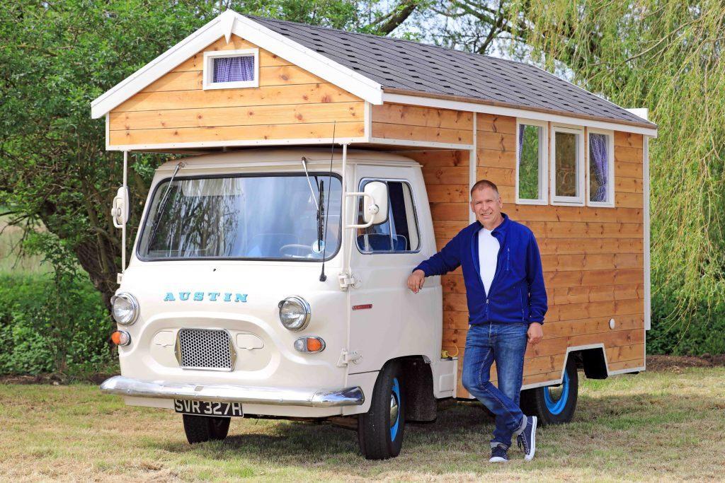 Stephen Alleyne's shed in Norfolk (Cuprinol/PA Wire)