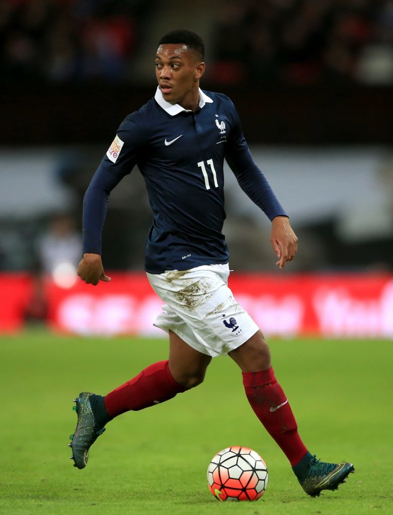 Anthony Martial (PA Archive)