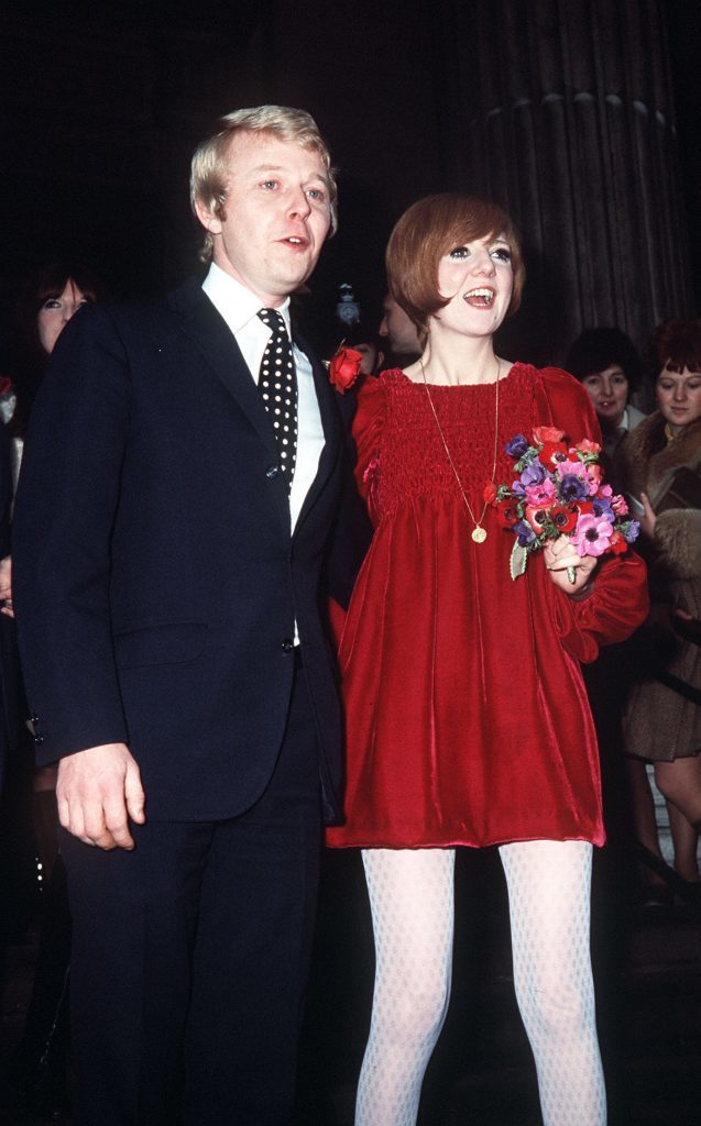 Cilla Black with husband Bobby on their wedding day (PA Archive)
