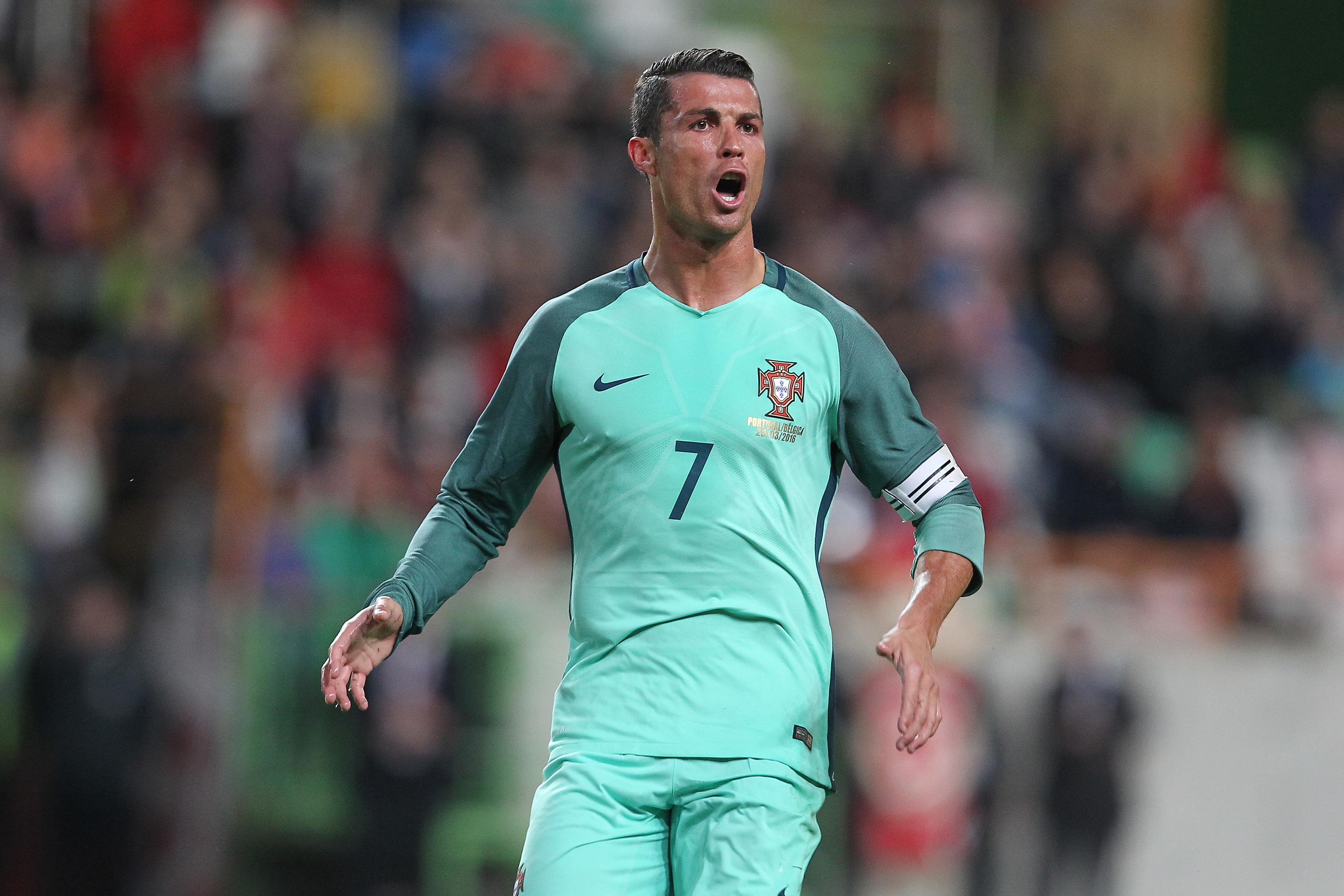 Cristiano Ronaldo (Carlos Rodrigues/Getty Images)